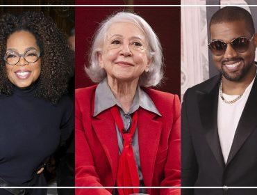 """De Fernanda Montenegro a Kanye West: 10 famosos que tiveram seu momento """"ao mestre com carinho"""""""