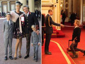 """Rod Stewart recebe título de """"Sir"""" em cerimônia com príncipe William"""