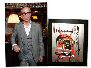 Quadros da coleção de Tommy Hilfiger vão a leilão em novembro nos EUA