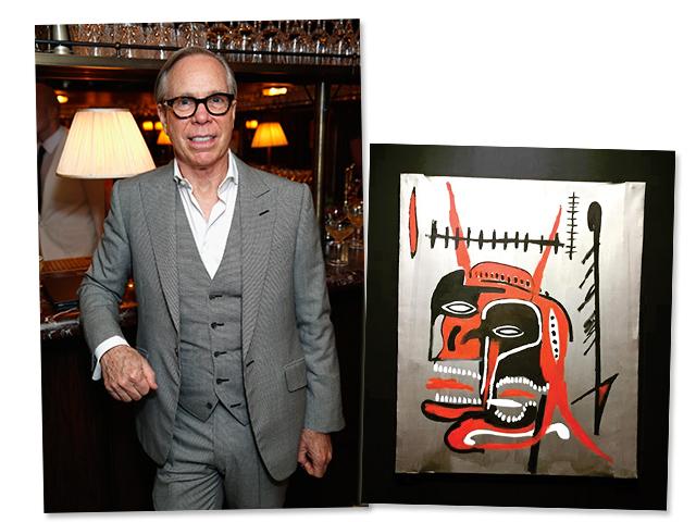 Tommy Hilfiger e a tela de Basquiat que vai a leilão