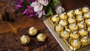 Ferrero Rocher vai deixar os convidados nas nuvens na Festa da Revista J.P por Bradesco