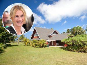 Julia Roberts está vendendo a casa dela no Havaí. E com desconto!