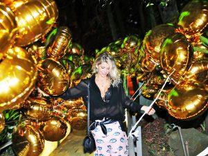 Nhac! Festa da Revista J.P por Bradesco teve torre de Ferrero Rocher