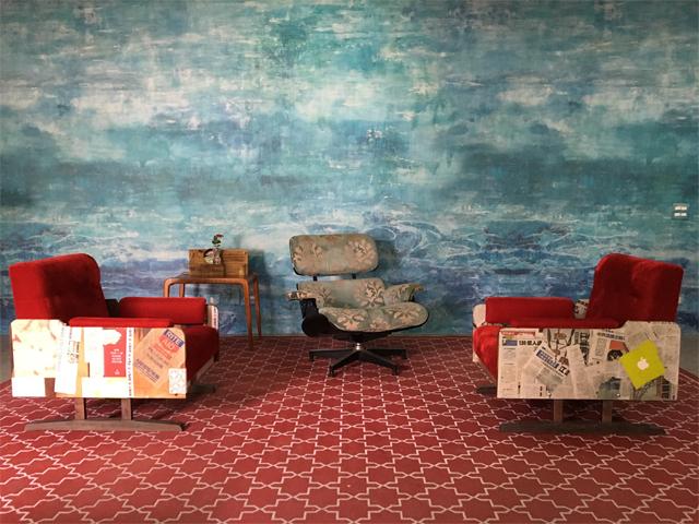 Sala da Casa Glamurama decorada por Sergio De Divitiis e Neza Cesar