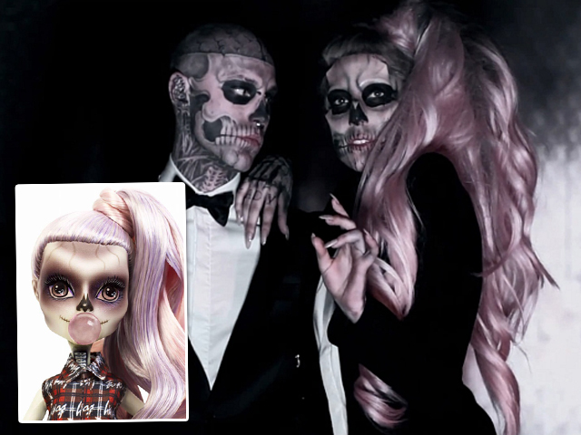 Lady Gaga no clipe de Born This Way || Créditos: Divulgação