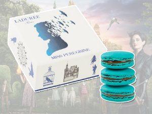 Mundo mágico de Tim Burton dá vida à caixa de macarons Ladurée