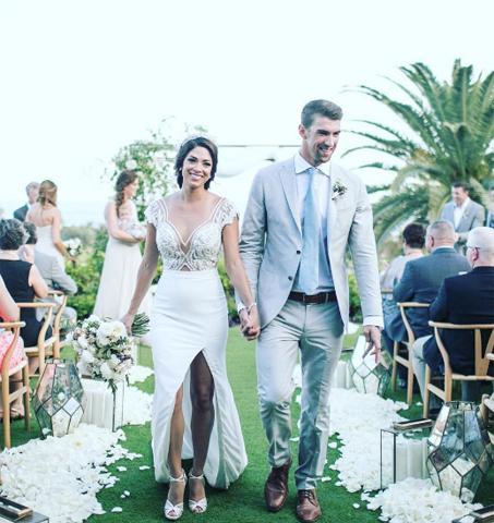 Nicole Johnson e Michael Phelps: casados pela segunda vez! || Crédito: Instagram / Reprodução