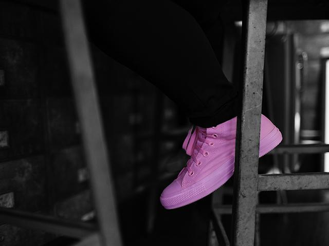 Chuck Taylor All Star Monochrome Pink    Crédito: Divulgação