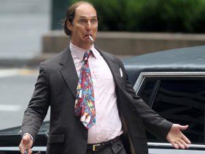Matthew McConaughey engorda mais de 20 kg para viver novo personagem