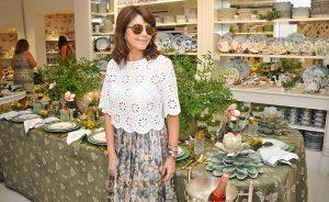 Tania Bulhões armou almoço em sua loja em prol da Fundação Amor Horizontal