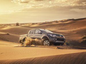 Asfalto, terra, areia, lama… Vem conhecer a nova picape da Mitsubish que encara tudo!