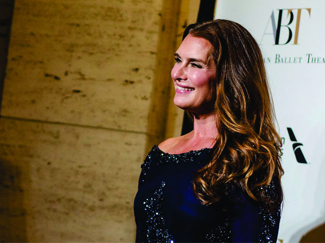 Brooke Shields, garota-propaganda da Wen Hair Care