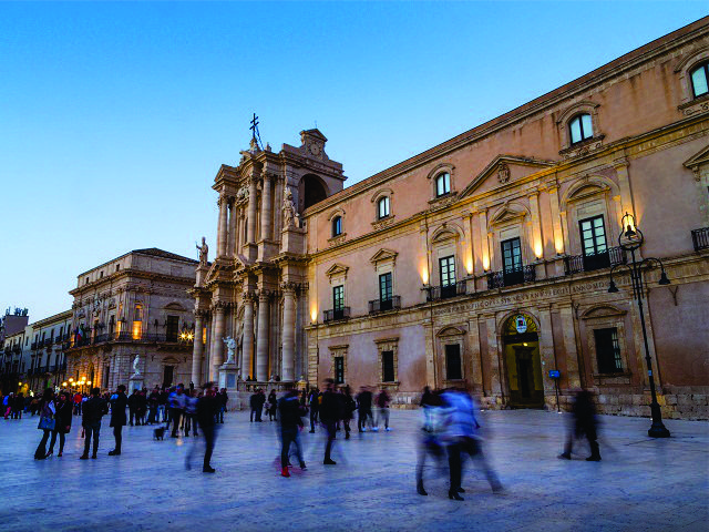 A Piazza del Duomo, em Florença
