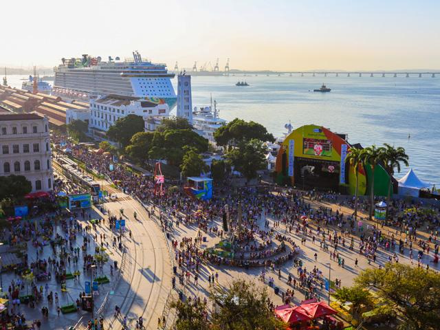 Boulevard Olímpico durante os Jogos Olímpicos || Créditos: Estúdio Retrato LIvre