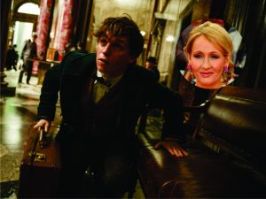 """""""Animais Fantásticos…"""" deve engordar ainda mais a conta bancária de J.K. Rowling"""