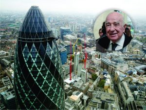 Negociação milionária envolve prédio do banqueiro Joseph Safra em Londres