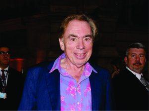 Andrew Lloyd Webber rouba a cena na Broadway, mas não no palco…