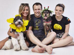 Luisa Mell lançou campanha de adoção de cães e gatos no Parque Villa Lobos