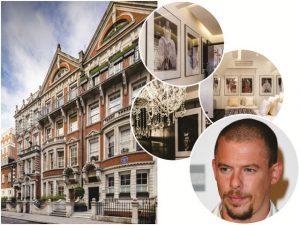 Duplex que pertenceu a Alexander McQueen é colocado à venda, em Londres