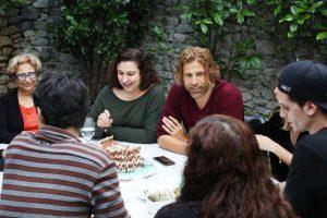 Gianecchini comemorou aniversário entre amigos e família no Jamile em SP