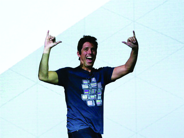 Nick Woodman, fundador da GoPro