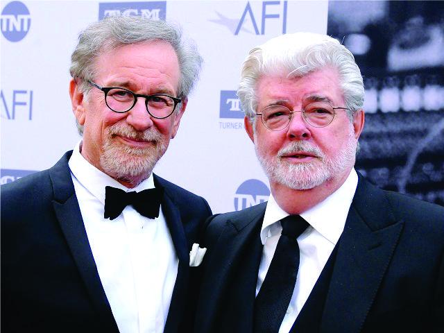 Steven Spielberg e George Lucas