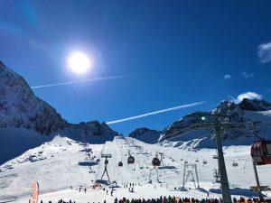 Christian Blanco já garantiu seu lugar na temporada de esqui na Áustria