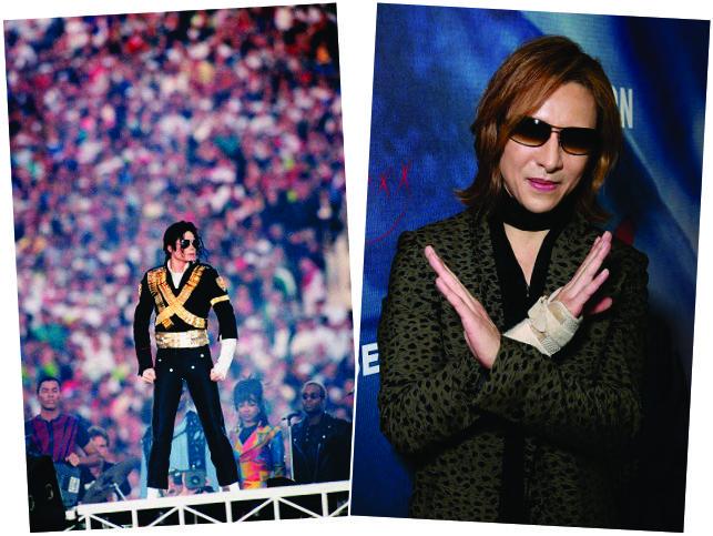 Michael Jackson e Yoshiki Hayashi || Créditos: Getty Images
