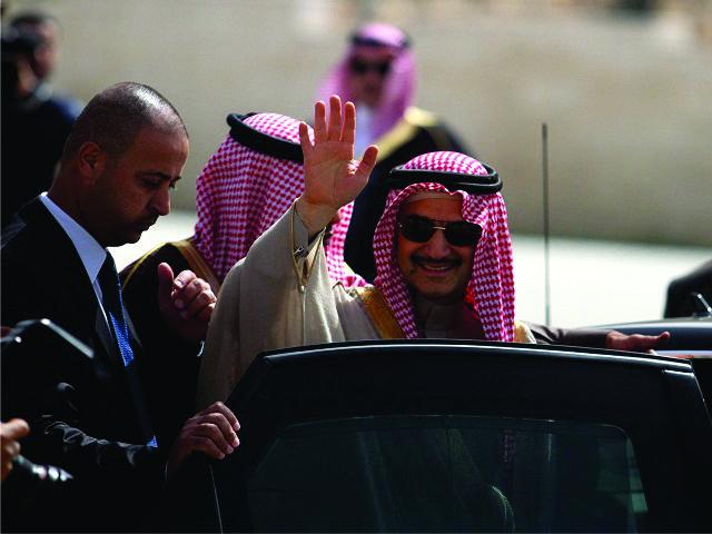 O príncipe saudita Alwaleed bin Talal al Saud || Créditos: Getty Images