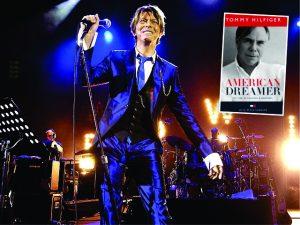 Em seu novo livro, Tommy Hilfiger revela sonho não realizado de David Bowie