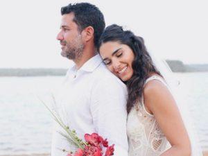 O casamento à beira do Tapajós de Lelê Veloso e Alexandre Pernet