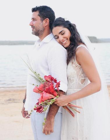 Leticia Veloso e Alexandre Pernet    Crédito: Reprodução / Instagram