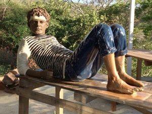 Baixo Leblon vai ganhar estátua de Cazuza com pose que é a cara dele