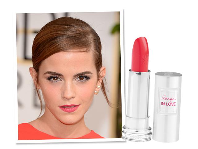 Emma Watson é fã do batom da Lancôme || Créditos: Getty Images/Divulgação