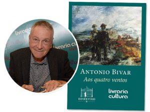"""Antonio Bivar lança """"Aos Quatro Ventos"""", o quarto livro de uma série"""