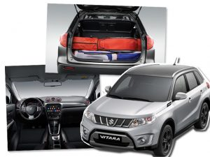 Novo Vitara, da Suzuki, pode ser customizado interna e externamente
