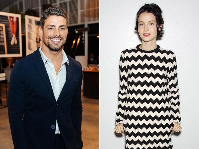 Cauã Reymond e Julia Goldani Telles: os apresentadores da noite! || Créditos: Getty Images / André Ligeiro
