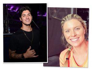 Gabriel Medina e Karina Oliani Leo Marinho/Divulgação Instagram