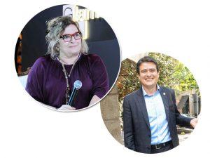 Joyce Pascowitch e Luiz Sérgio Vieira, da EY, debatem inovação digital