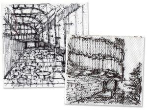 Desenhos e esboços de José Ricardo Basiches ganham exposição em SP