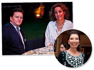 Lorian & Franz von Fürstenberg e Maria Zilda Oliveira Araujo