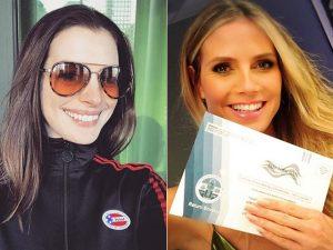 Selfies mil! Celebridades compartilham suas fotos durante a eleição americana