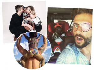 """Bruno Gagliasso, 1º Natal com Titi: """"Ela não sabia o que é Papai Noel"""""""