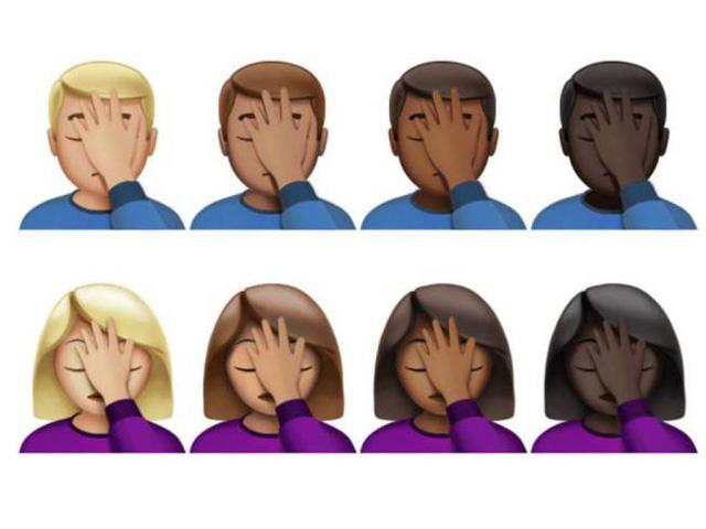 """O emoji """"facepalm"""" já é um dos mais aguardados!    Crédito: Divulgação"""