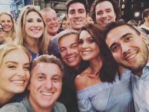 Selfies mil em torno da gravação do especial de fim de ano da Globo