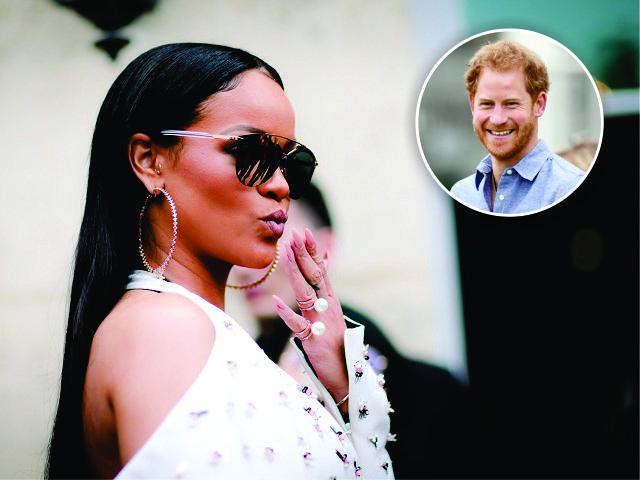 Rihanna e o príncipe Harry