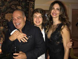 Luciana Gimenez: idade nova com festa fervida e Lucas Jagger do tipo animadão
