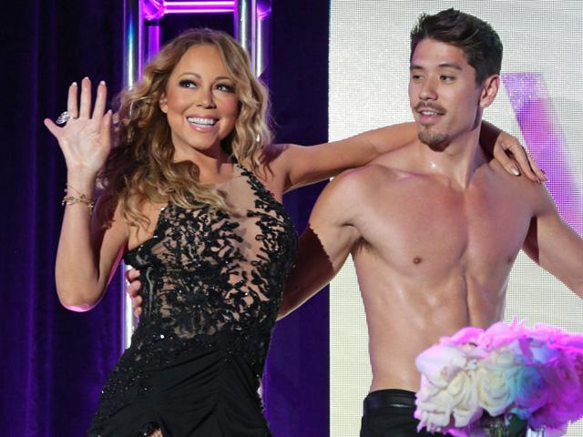 Mariah Carey e Bryan Tanaka; juntos além dos palcos