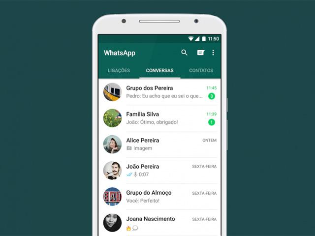 Agora já é possível fazer videochamadas via WhatsApp || Crédito: Divulgação
