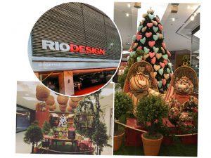 Rio Design Leblon inaugura décor de Natal diferente com almoço para glamurettes